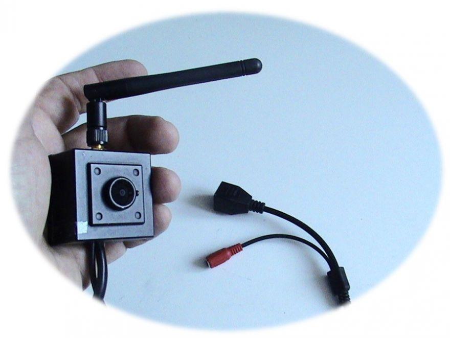 мини Wi-Fi камера с записью на Яндекс-Диск и смартфон