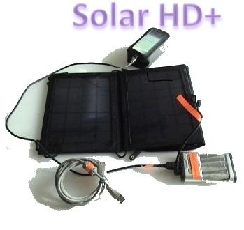 Видеонаблюдение на солнечной батарее